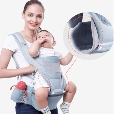 Ergonomic Hip Seat Baby Carrier 3in1