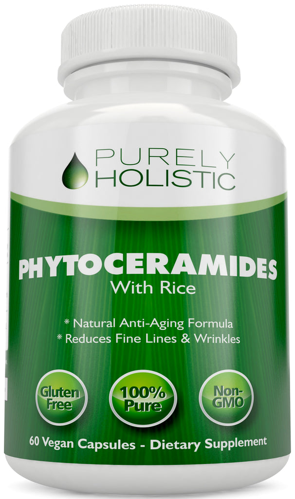 Phytoceramides Skin Therapy Supplement 60 Vegan Rice Based Capsules