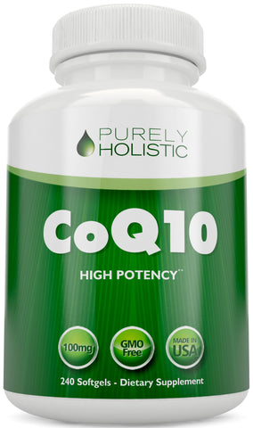 CoQ10 240 SoftGels High Absorption Coenzyme Q10 Up to 8 Month's Supply