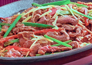 Hot Plate Venison 铁板鹿肉 (Available after 4pm)