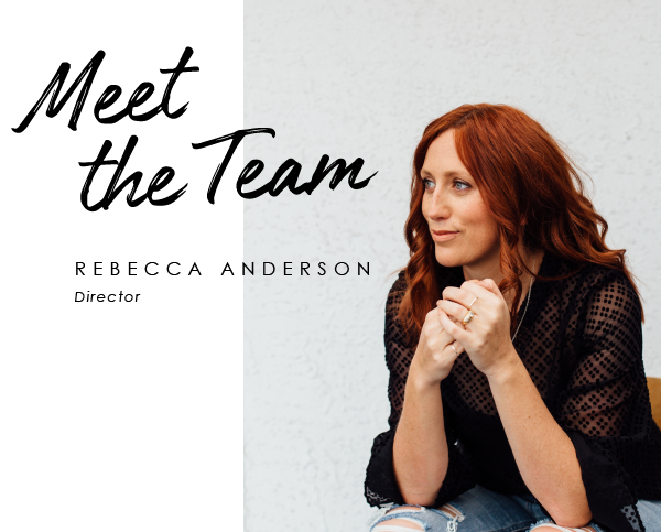 Meet the team: Rebecca Anderson, Director