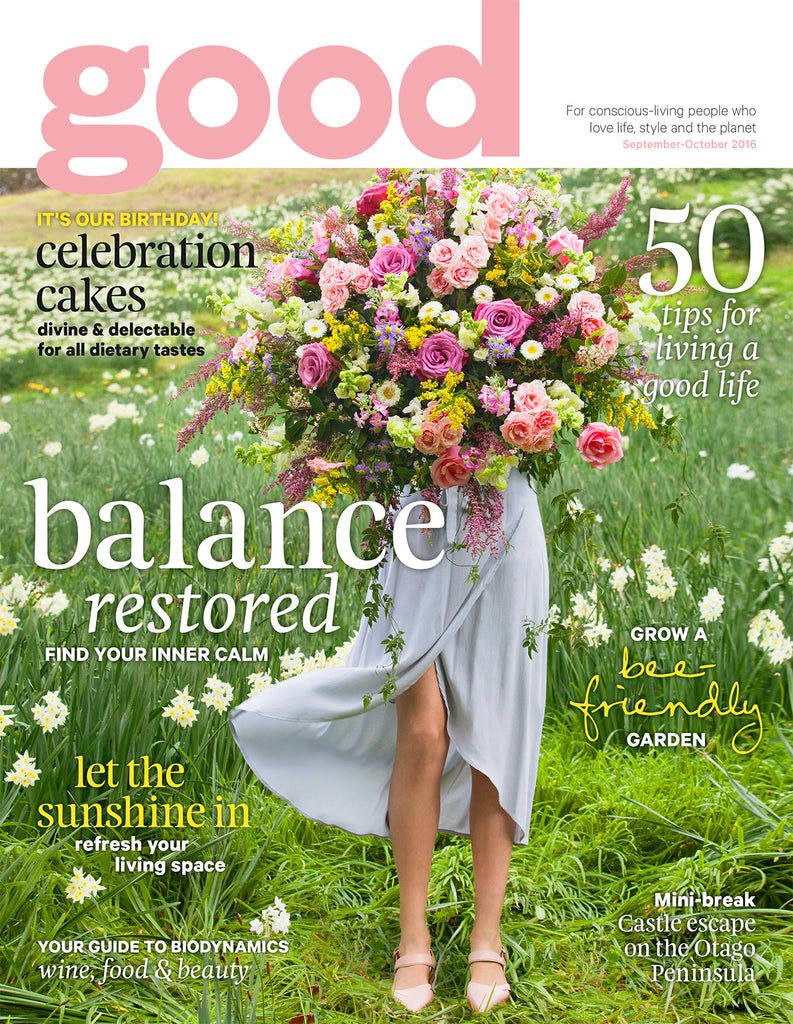 Good magazine, NZ, Chaos & Harmony, Dash, pink flats, NZ designer, shoes, pink shoes, New Zealand fashion, spring fashion