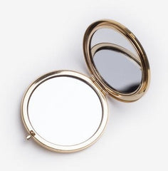 Odeme gold compact mirror, Chaos & Harmony, New Zealand fashion