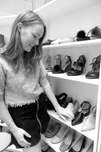 Liv Sheehan, Chaos & Harmony, sales manager, boutique women's shoes