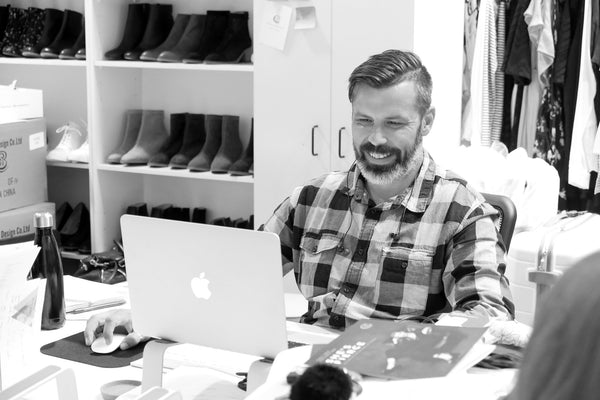 Greg Anderson, Online manager, Chaos & Harmony, boutique women's shoes, New Zealand fashion
