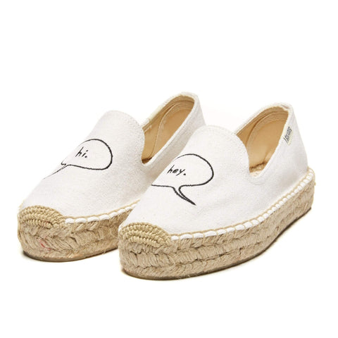 Ashkahn x Hi Embroidered Platform Smoking Slipper