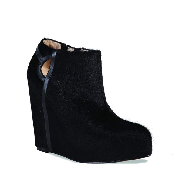 Deco Black Boot