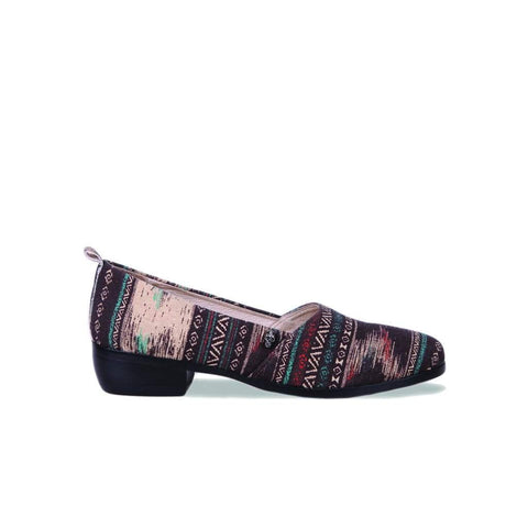 Levon - Aztec Slip On Shoe