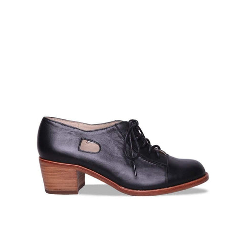 Lottie Brogue - Classic Black