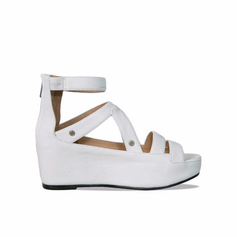 Reverie White Sandal