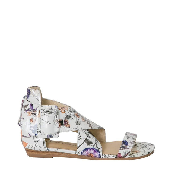 Woodland - Multi Flower Flat sandal