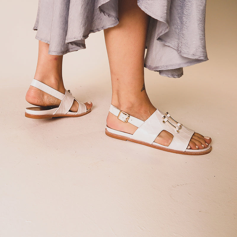 Bounty Sandal - White