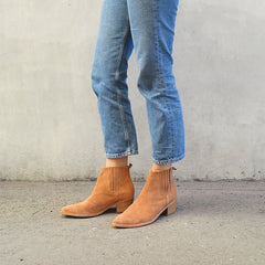 Explore Boot - Tan Suede