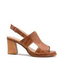 Flourish Heel - Tan