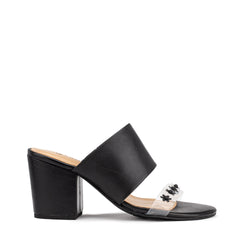 Glow Heel - Black Flower