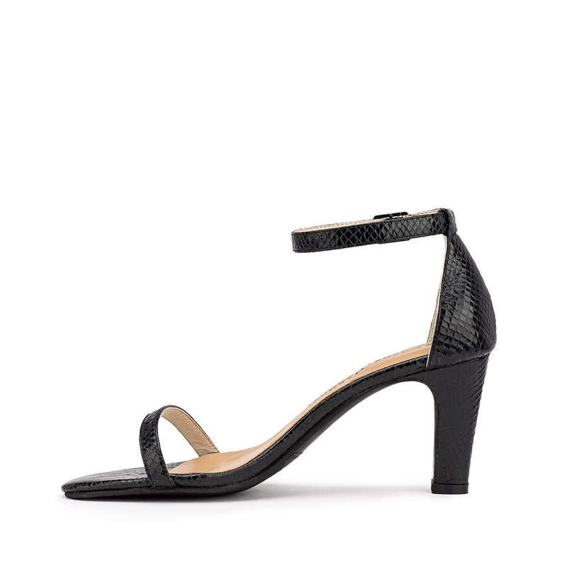 Lover Heel - Black Texture