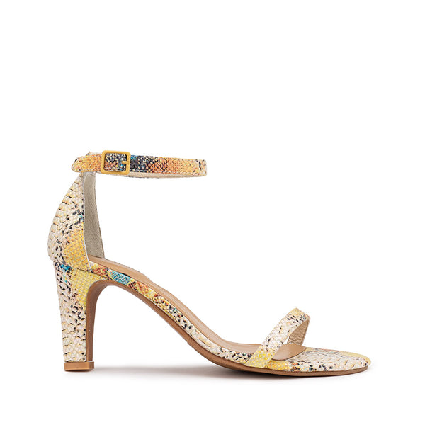 Lover Heel - Yellow Snake