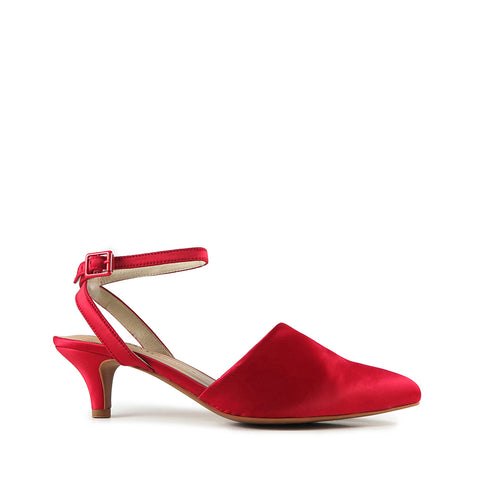 Modern Mid Heel - Red
