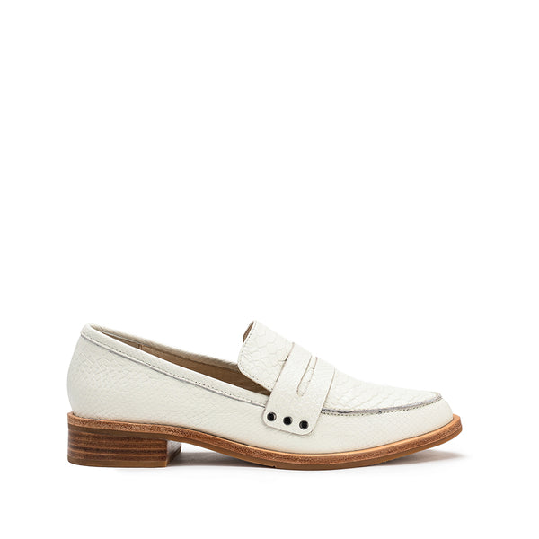 River Loafer - White Snake