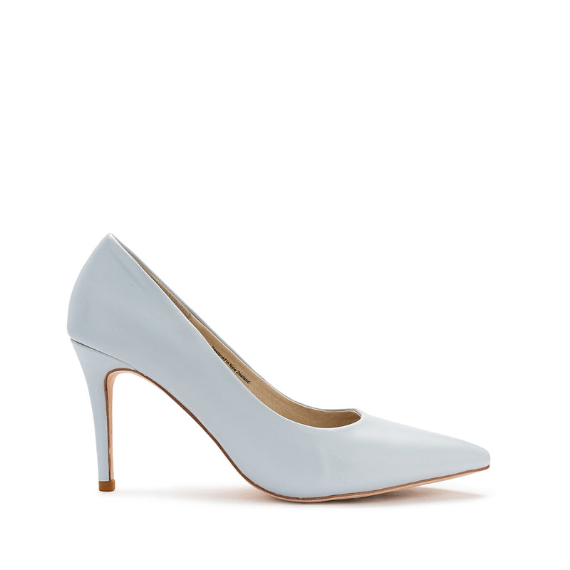 Rosette Heel - Powder Blue