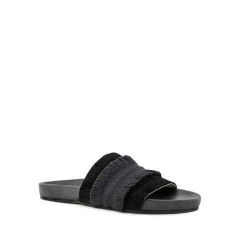 Tassle Slide - Black