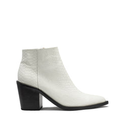 Tradition Boot - White Snake