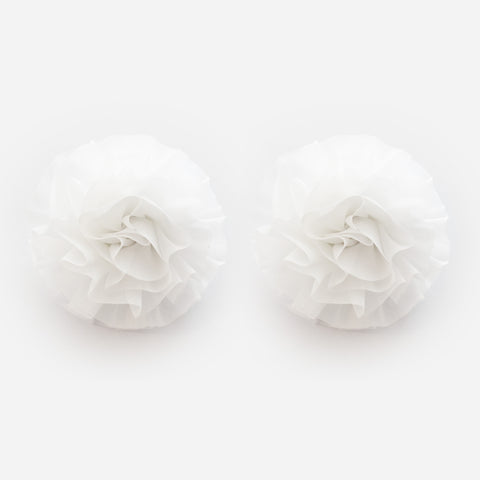 Snow Flower - Pair