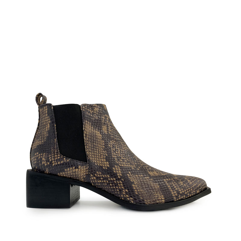 World Boot - Brown Snake