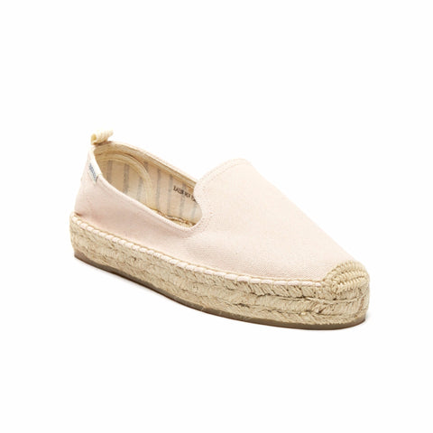 Platform Smoking Slipper - Soft Rose