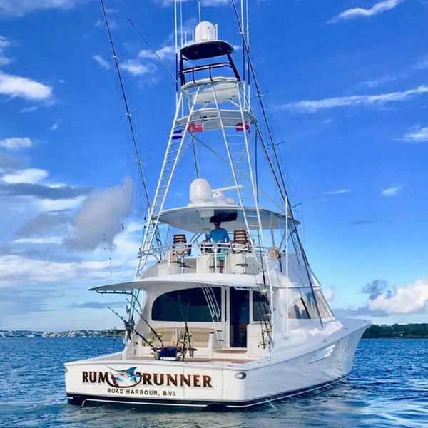 "SMS Sportfish Outfitters outfits the new 72 Viking Yacht ""Rum Runner"""
