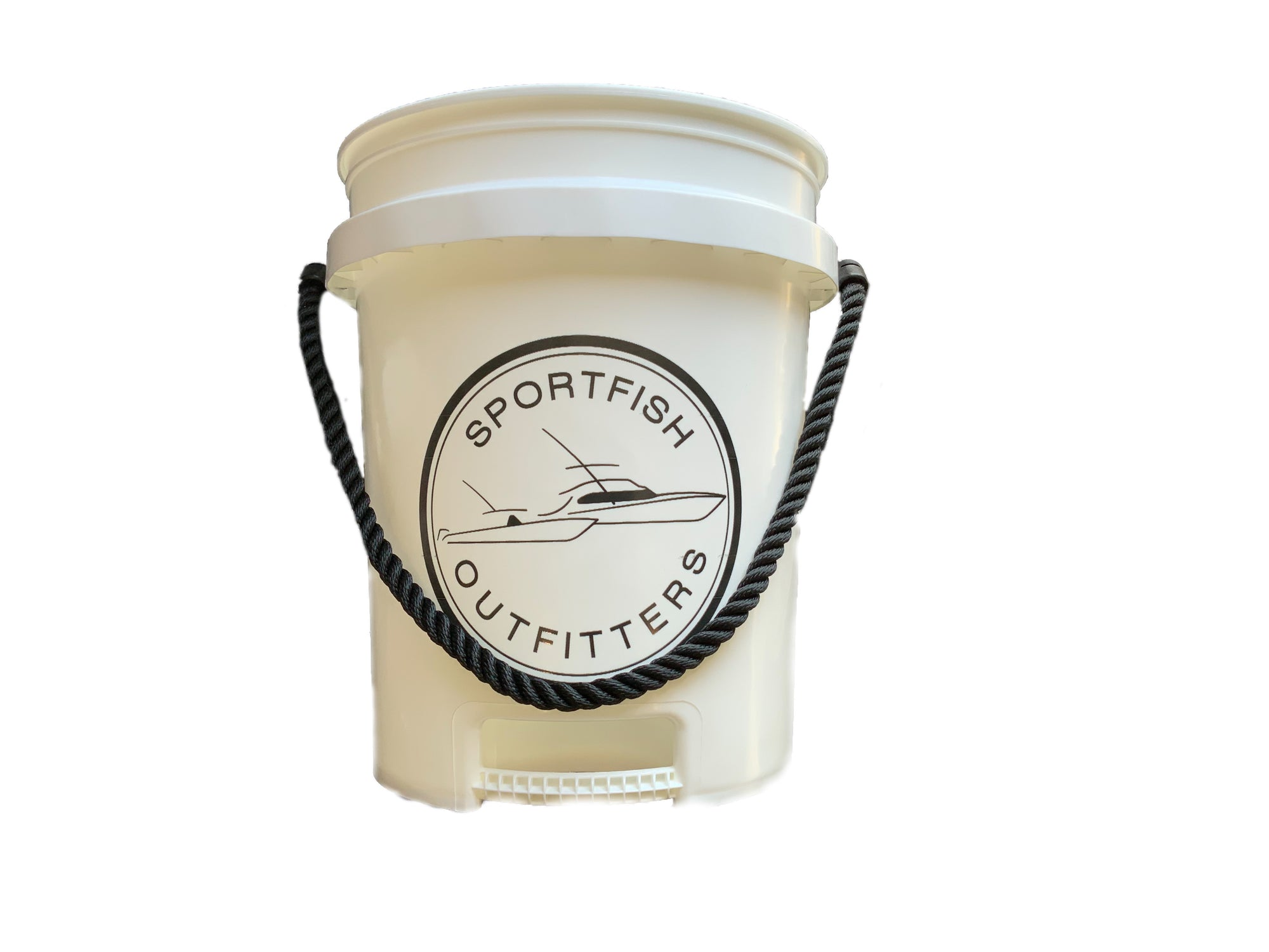 Sportfish Outfitters Bucket With Bottom Handle