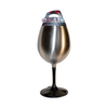 Stainless Wine Glass w/ Removable Base