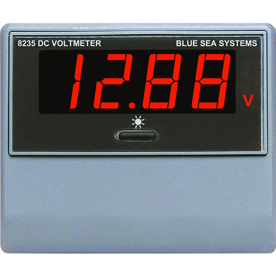 Blue Sea Systems 1733 Digital Meter Mini Oled Dc Volts