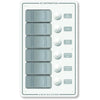 Blue Sea 8273 Water Resistant Panel - 6 Position - White - Vertical [8273]