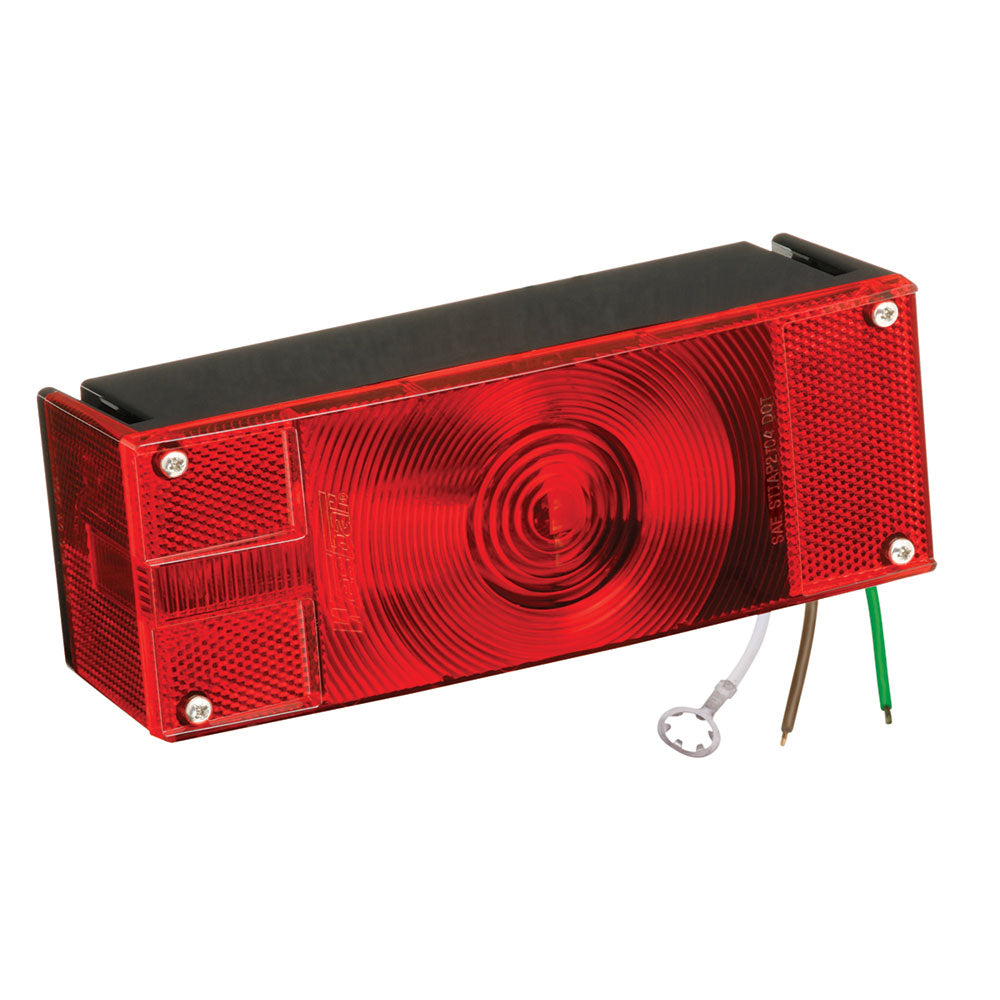 "Wesbar Low Profile 8 Function Left-Roadside Trailer Light >80"" [403026]"
