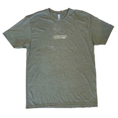 Sportfish Outfitters Mens Military Green Boats Shirt