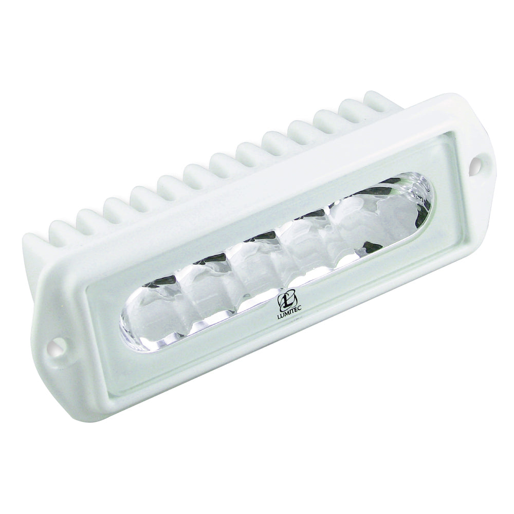 Lumitec Capri2 - Flush Mount LED Flood Light - 2-Color White/Blue Dimming [101099]