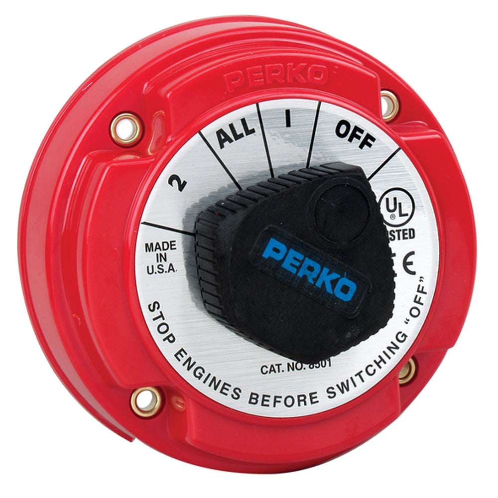 Perko Medium Duty Battery Selector Switch - 250A Continuous [8501DP]