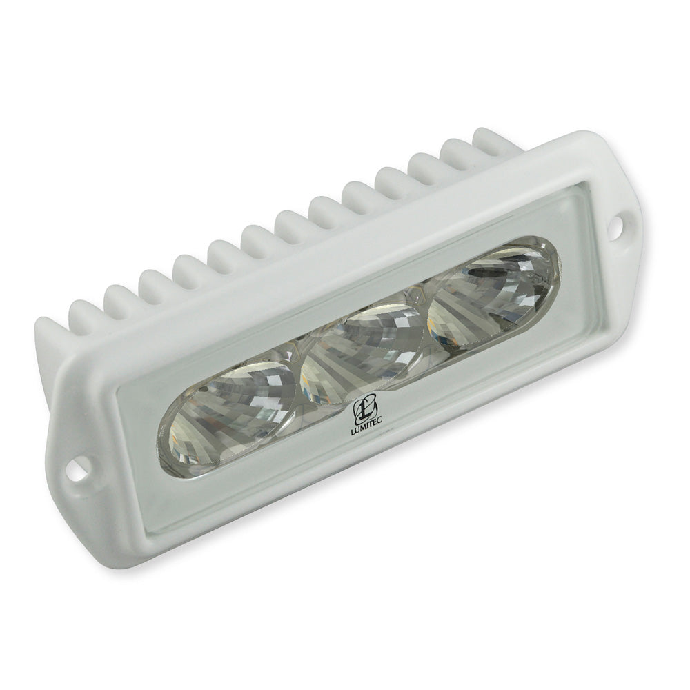 Lumitec CapriLT - LED Flood Light - White Finish - White Non-Dimming [101288]