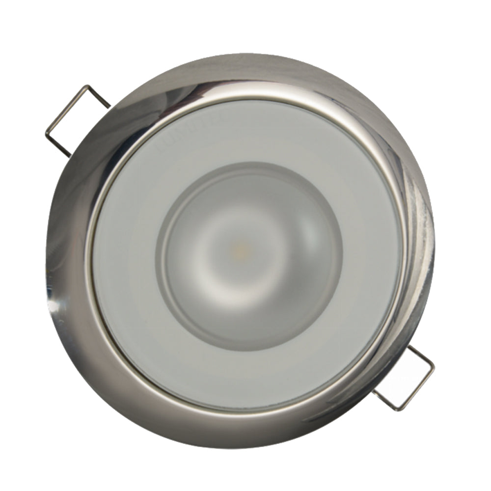 Lumitec Mirage Flush Mount Down Light Spectrum RGBW - Polished Bezel [113117]