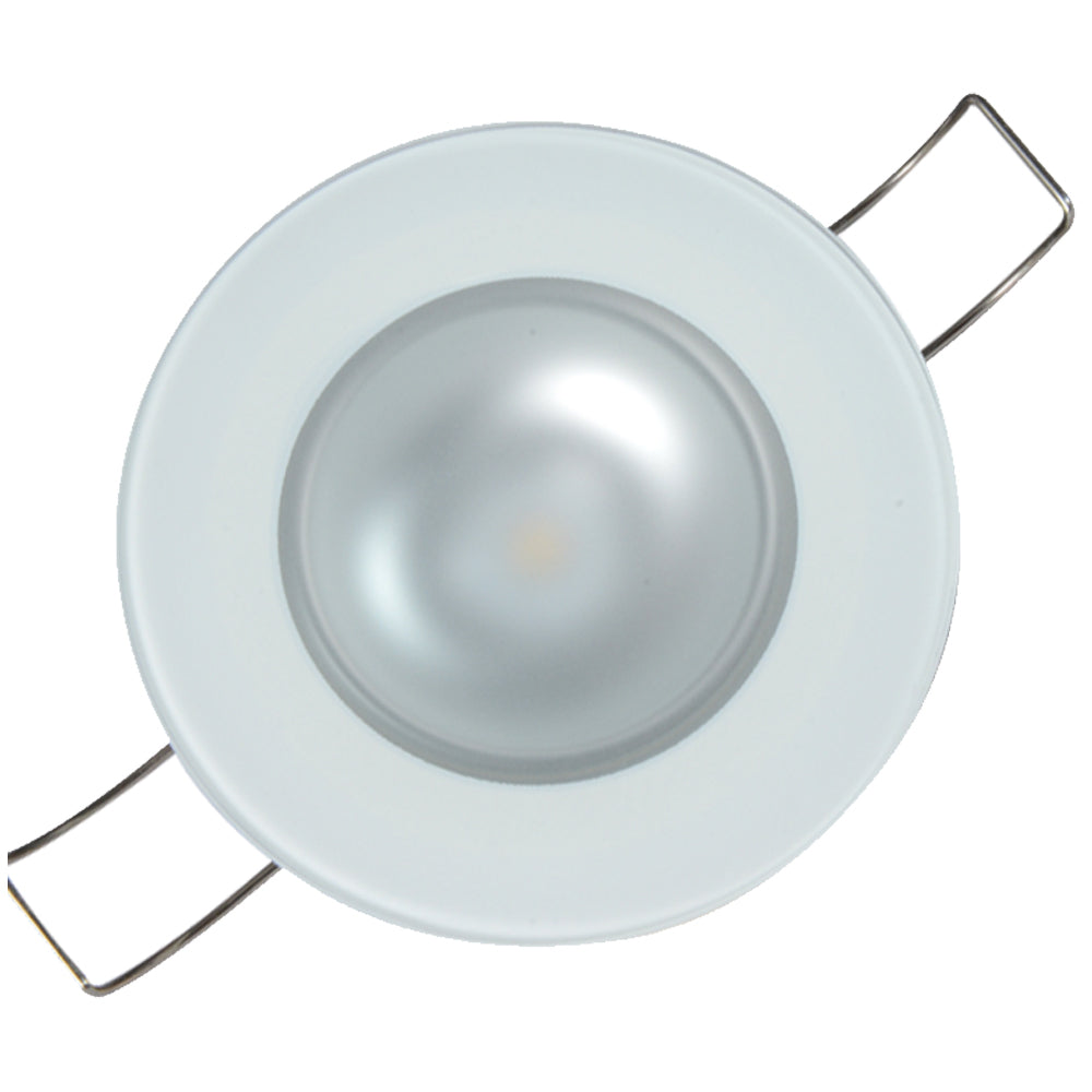 Lumitec Mirage Flush Mount Down Light Spectrum RGBW - Glass Bezel [113197]