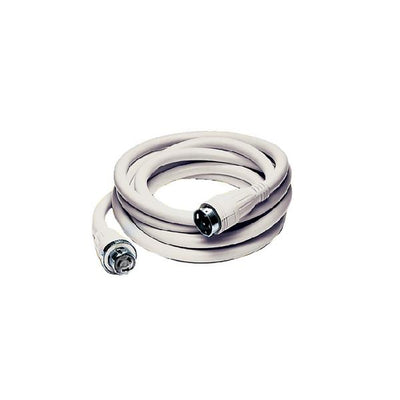 Hubbell 50A/125/250V 50' Shore Power Cable Set White