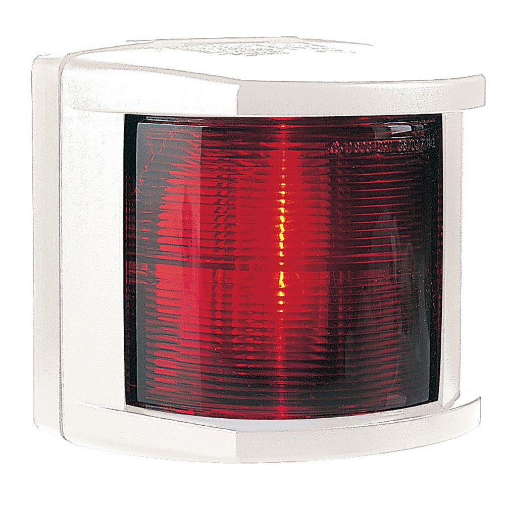 Hella Marine Port Navigation Light - Incandescent - 2nm - White Housing - 12V [002984385]