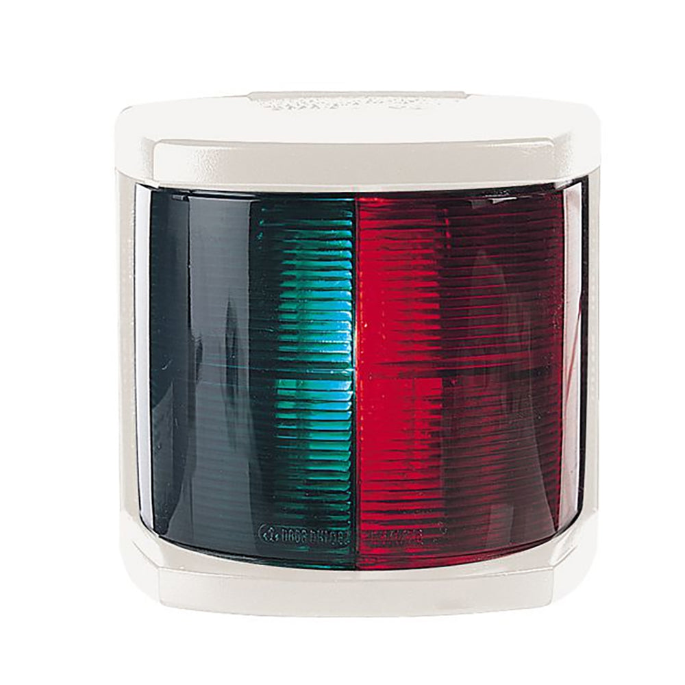 Hella Marine Bi-Color Navigation Light - Incandescent - 2nm - White Housing - 12V [002984365]