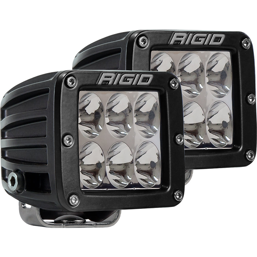 RIGID Industries D-Series PRO Specter-Driving LED - Pair - Black [502313]