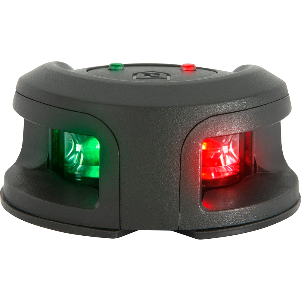 Attwood LightArmor Bow Mount Navigation Light - Composite Black - Bi-Color - 2NM [NV2002PB-7]