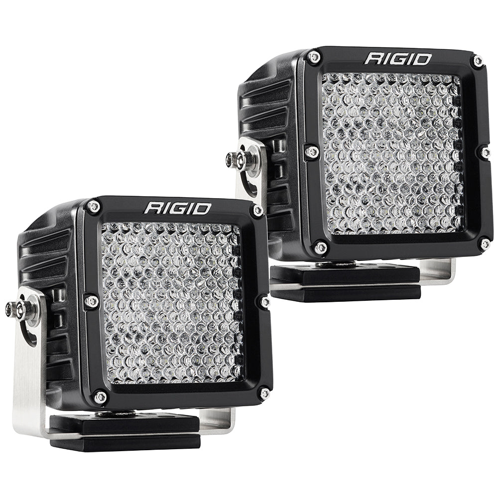 RIGID Industries D-XL PRO Diffused - Pair - Black [322313]