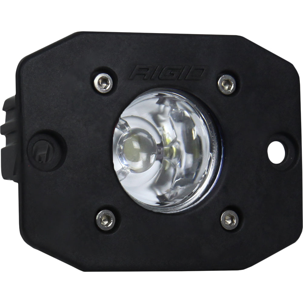 RIGID Industries Ignite Flush Mount Flood - Single - Black [20621]