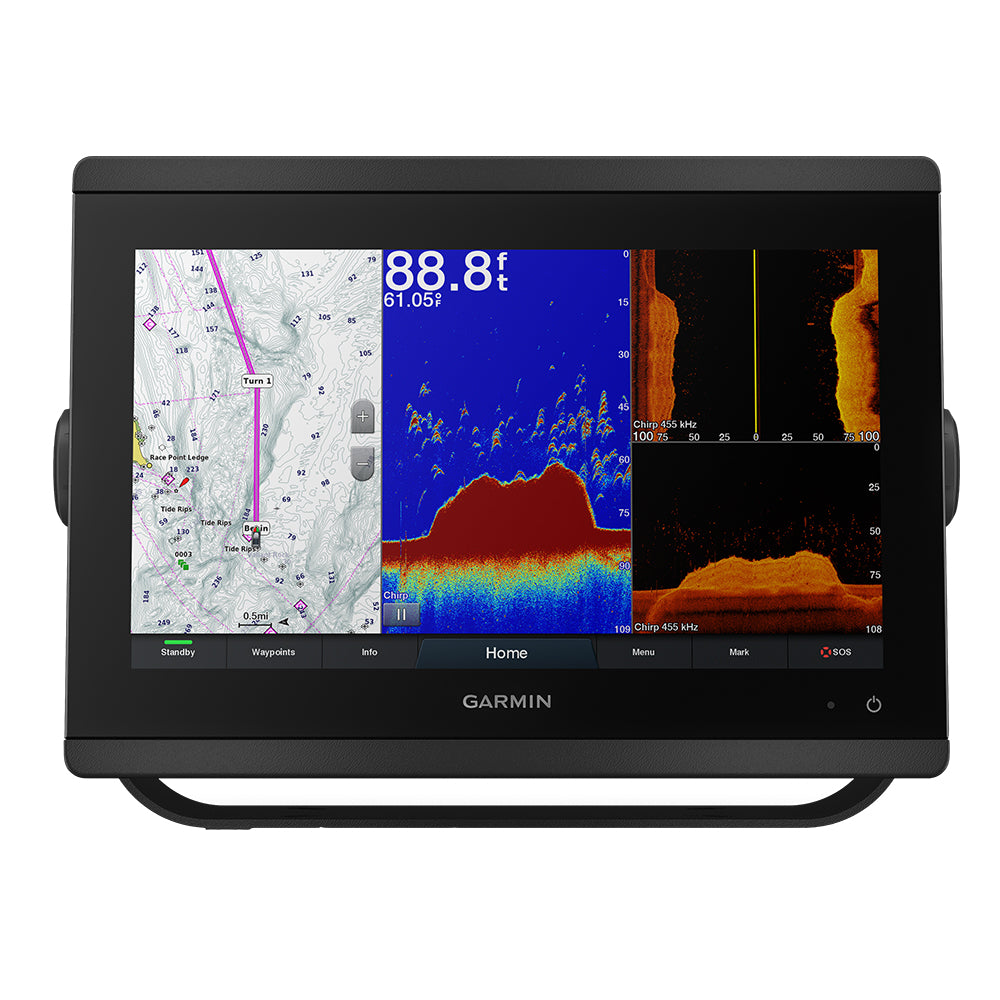 "Garmin GPSMAP 8612xsv 12"" Chartplotter/Sounder Combo w/Mapping  Sonar [010-02092-03]"