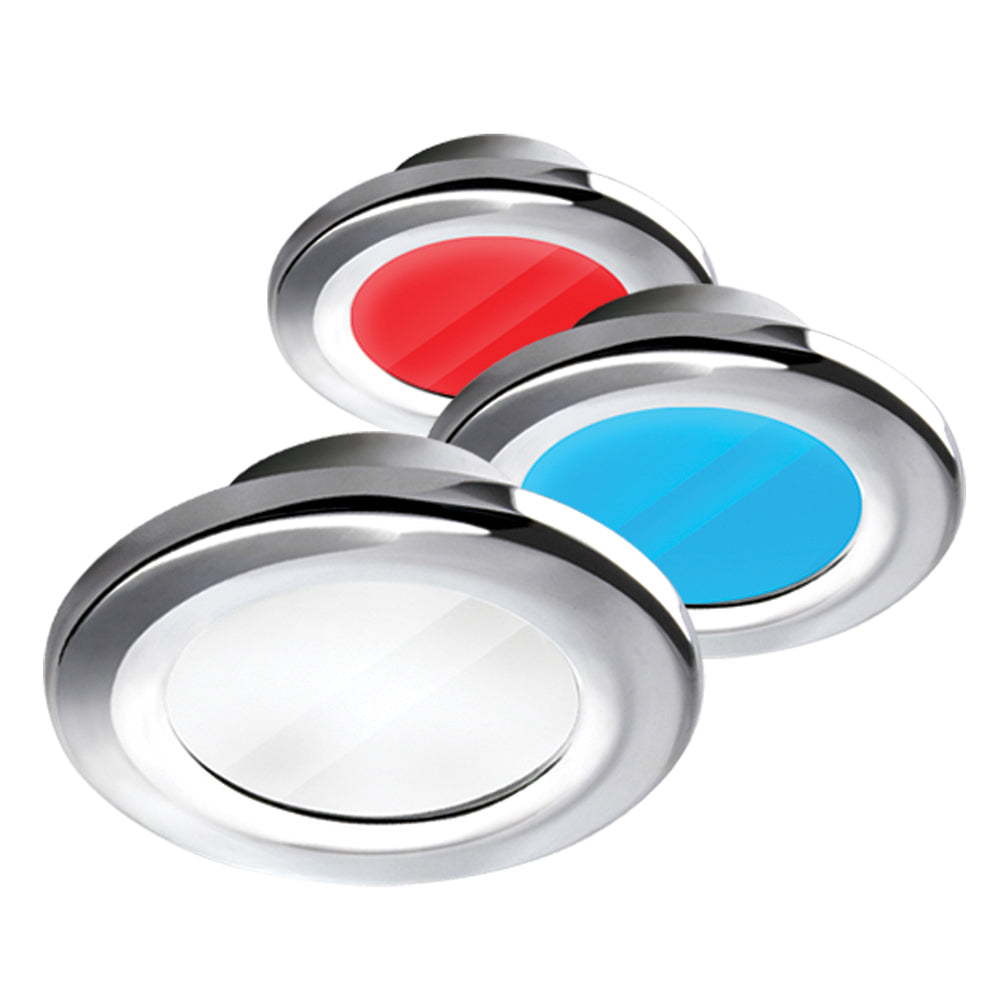 i2Systems Apeiron A3120 Screw Mount Light - Red, Warm White  Blue - Chrome Finish [A3120Z-11HCE]